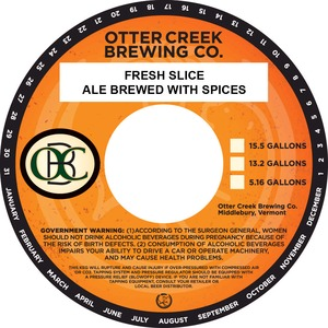 Otter Creek Brewing Company Fresh Slice