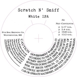 Scratch N' Sniff White IPA