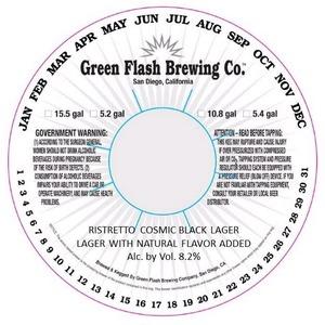 Green Flash Brewing Company Ristretto Cosmic Black