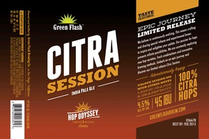 Green Flash Brewing Company Citra Session