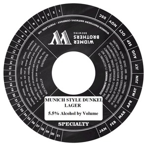 Widmer Brothers Brewing Company Munich Style Dunkel February 2014