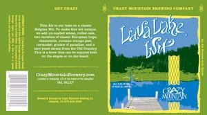 Crazy Mountain Lava Lake