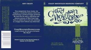 Crazy Mountain Crazy Mountain Amber
