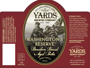 Yards Brewing Company Washington's Reserve