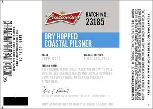 Budweiser Dry Hopped Coastal
