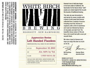 White Birch Brewing Left Handed Flanders