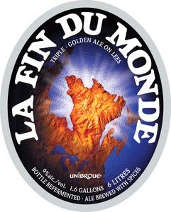 Unibroue La Fin Du Monde February 2014