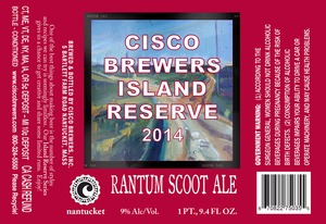 Cisco Brewers Rantom Scoot Ale