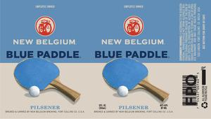 New Belgium Brewing Blue Paddle February 2014