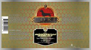 Core Brewing Company Belgian Style Dark