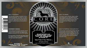 Core Brewing Company Imperial Chocolate