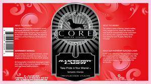 Core Brewing Company Raspberry