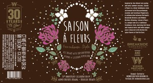 Widmer Brothers Brewing Company Saison A Fleurs
