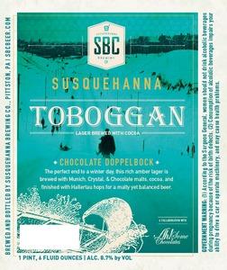 Susquehanna Brewing Company Toboggan