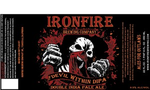 Ironfire Brewing Company The Devil Within