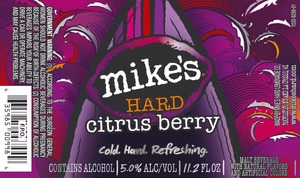 Mike's Hard Citrus Berry