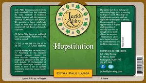 Hopstitution
