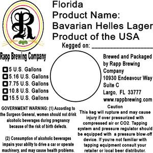 Rapp Brewing Company Bavarian Helles