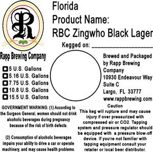 Rapp Brewing Company Rbc Zingwho