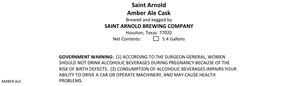 Saint Arnold Brewing Company Amber
