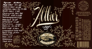 Widmer Brothers Brewing Company Altbier March 2014