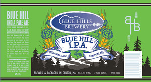 Blue Hills Brewery Blue Hill IPA