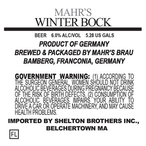 Mahr's Brau Winter Bock
