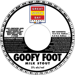 Great South Bay Brewery Goofy Foot