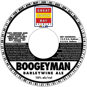 Great South Bay Brewery Boogeyman