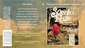 Crazy Mountain Scenic Route