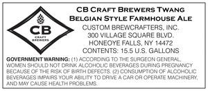 Cb Cb Craftbrewer's Twang