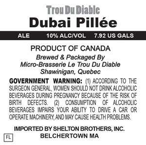 Trou Du Diable Dubai PillÉe