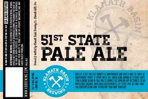 Klamath Basin Brewing Co. 51st State Pale