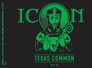 Saint Arnold Brewing Company Icon Texas Common