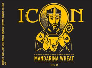 Saint Arnold Brewing Company Icon Mandarina Wheat