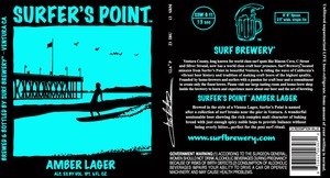 Surfer's Point Amber Lager