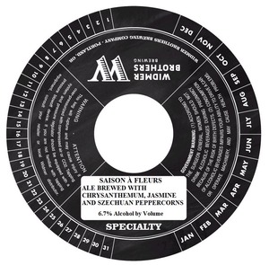 Widmer Brothers Brewing Company Saison A Fleurs March 2014