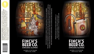Finch's Beer Company Stache In The Wood