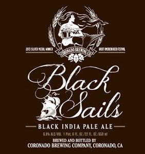 Coronado Brewing Company Black Sails