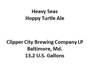 Heavy Seas Hoppy Turtle