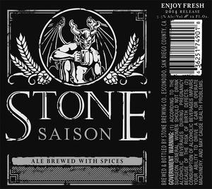 Stone Brewing Co Stone Saison
