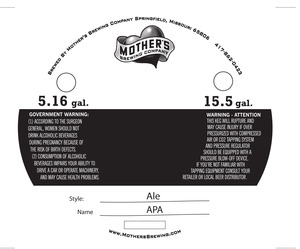 Mother's Brewing Company Apa