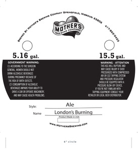 Mother's Brewing Company Londons Burning