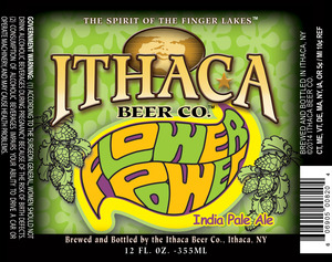 Ithaca Beer Company Flower Power