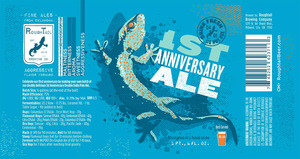 Roughtail Brewing Company 1st Anniversary Ale