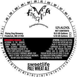 Flying Dog Sweetlife Pale Wheat Ale