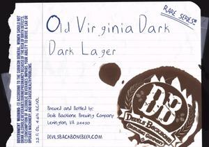 Devils Backbone Brewing Company Old Virginia Dark