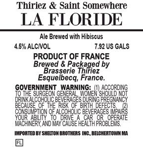 Brasserie Thiriez La Floride