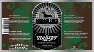 Core Brewing Company Toasted Coconut