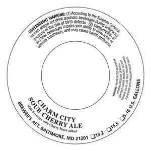 Brewer's Art Charm City Sour Cherry Ale